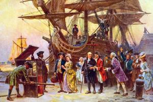 Franklin's Return to Philadelphia by Jean Leon Gerome Ferris