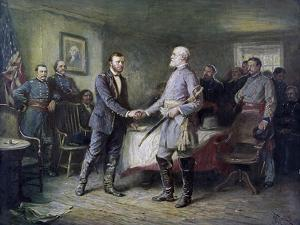 Let Us Have Peace: Grant and Lee by Jean Leon Gerome Ferris