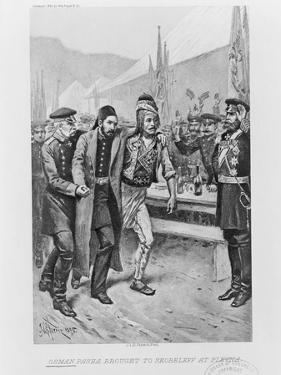 Osman Pasha Brought to Skobelev at Plevna, C. 1895 by Jean Leon Gerome Ferris