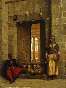 Heads of the Rebel Beys at the Mosque-El Assaneyn by Jean Leon Gerome