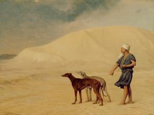 In the Desert by Jean Leon Gerome