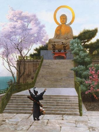 Japanese Imploring a Divinity