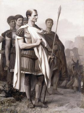 Julius Caesar and His Staff by Jean Leon Gerome