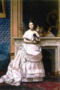 Marie Gerome, 1867-70 by Jean Leon Gerome