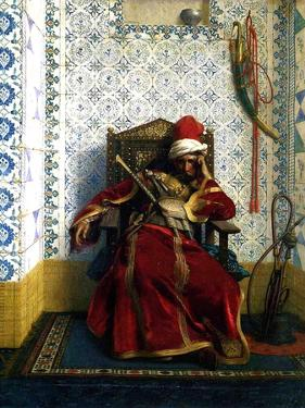 Markos Botsaris, 1874 by Jean Leon Gerome