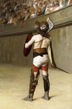 Mirmillon - a Gallic Gladiator by Jean Leon Gerome