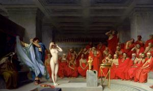 Phryne Before the Jury, 1861 by Jean Leon Gerome