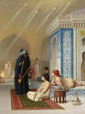 Pool in a Harem, circa 1876 by Jean Leon Gerome