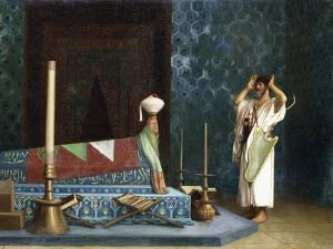 Prayer at the Sultan's Room by Jean Leon Gerome