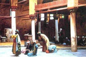 Prayer in a Mosque, 1892 by Jean Leon Gerome