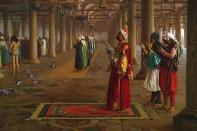 Prayer in a Mosque