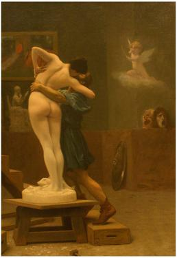 Jean-Leon Gerome Pygmalion and Galatea Fine Art Print Poster