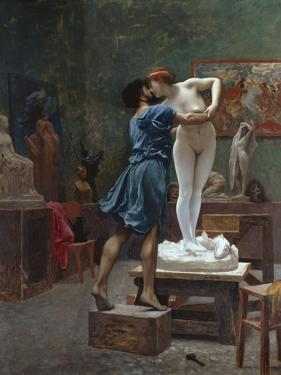 Pygmalion Et Galatee by Jean Leon Gerome