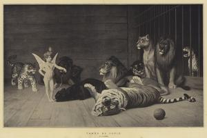 Tamed by Cupid by Jean Leon Gerome