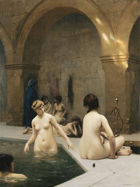 The Bathers; the Baigneuses, C.1889 by Jean Leon Gerome