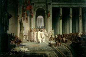 The Death of Caesar, 1867 by Jean Leon Gerome