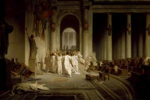 The Death of Caesar by Jean-Léon Gerôme