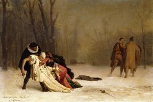 The Duel after the Ball; Sortie Du Bal Masque by Jean Leon Gerome