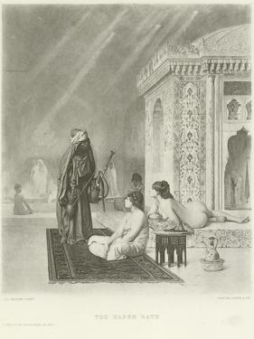 The Harem Bath by Jean Leon Gerome