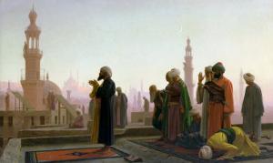 The Prayer, 1865 by Jean Leon Gerome