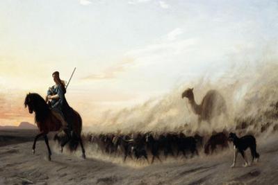 The Syrian Shepherd, 1865