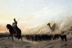 The Syrian Shepherd, 1865 by Jean Leon Gerome