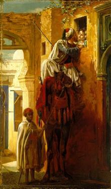 The Tryst, 1840–1904 by Jean Leon Gerome