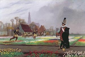 The Tulip Folly, 1882 by Jean Leon Gerome