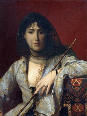 Veiled Circassian Lady by Jean Leon Gerome