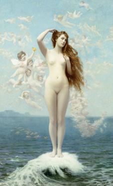 Venus Rising (The Star) by Jean Leon Gerome