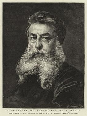 A Portrait of Meissonier by Himself by Jean-Louis Ernest Meissonier