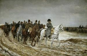 Campagne de France, 1814 by Jean-Louis Ernest Meissonier
