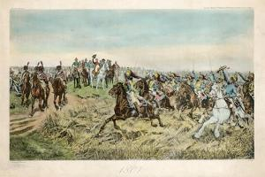 Charge of the French Cuirassiers at Friedland on 14 June 1807 by Jean-Louis Ernest Meissonier