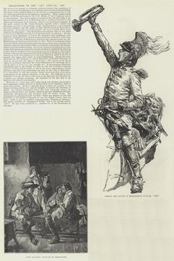 Meissonier in the Art Annual, 1887 by Jean-Louis Ernest Meissonier