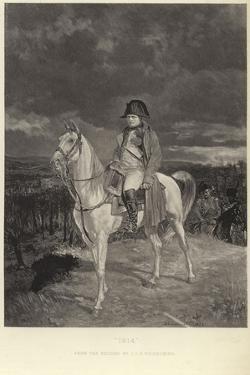 Portrait of Napoleon Bonaparte by Jean-Louis Ernest Meissonier