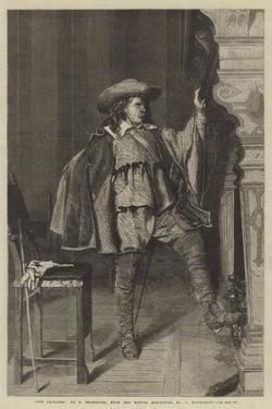 The Cavalier, from the Winter Exhibition, No 7, Haymarket by Jean-Louis Ernest Meissonier