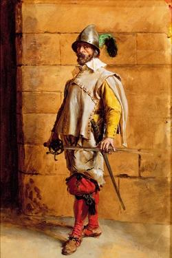 The Cavalier, Portrait of the Artist, 1872 by Jean-Louis Ernest Meissonier