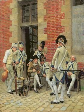 The Sergeant's Portrait, 1874 by Jean-Louis Ernest Meissonier