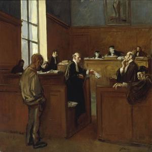 A Plea for Mercy by Jean Louis Forain