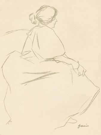 A Study in Crayon, C1872-1898, (1898)