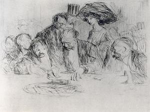 At the Gambling Table, 1925 by Jean Louis Forain