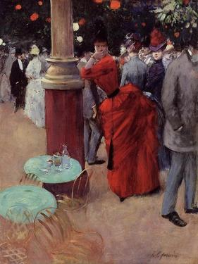 At the Public Garden, c.1884 by Jean Louis Forain