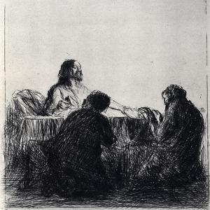 Breaking of the Bread, 1925 by Jean Louis Forain