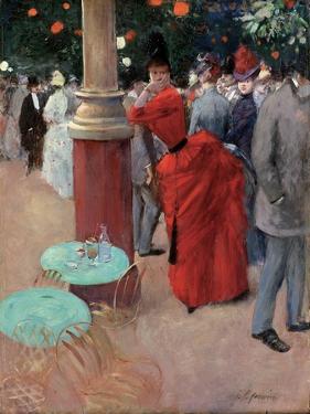 Le Jardin Public, C.1884 by Jean Louis Forain