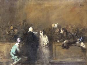 Scene de Tribunal by Jean Louis Forain