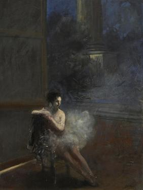 Seated Dancer by Jean Louis Forain