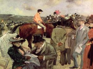 The Horse-Race, c.1890 by Jean Louis Forain