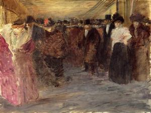 The Music Hall, c.1890 by Jean Louis Forain