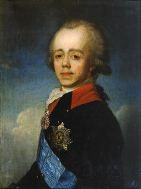 Grand Duke Pavel Petrovich of Russia, Late 18th Century by Jean Louis Voille