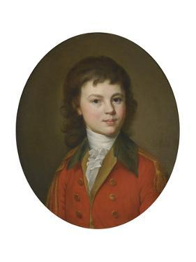 Portrait of Count Pavel Alexandrovich Stroganov (1774-181), Aged 15 by Jean Louis Voille